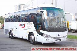 Yutong ZK 6938 HB9 на выставке COMTRANS 2017