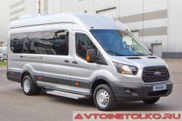 Ford Transit автобус класса В на выставке COMTRANS 2017
