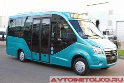 ГАЗель NEXT A68R5E электробус на выставке COMTRANS 2017
