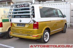 Volkswagen Multivan 70 лет Bulli на выставке COMTRANS 2017