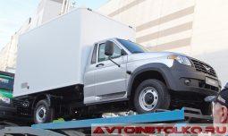 УАЗ ПРОФИ фургон на выставке COMTRANS 2017