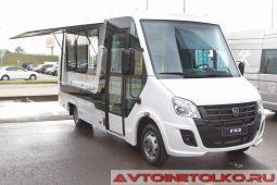 ГАЗель NEXT с фургоном Фабрика композитов на выставке COMTRANS 2017