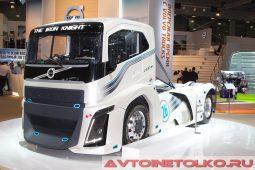 Volvo Iron Knight на выставке COMTRANS 2017
