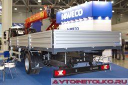 NAVECO C-500 на выставке COMTRANS 2017
