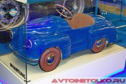 Педальный автомобиль Урал на выставке COMTRANS 2017