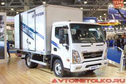 Hyundai Mighty на выставке COMTRANS 2017