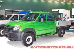 УАЗ ПРОФИ с двойной кабиной на выставке COMTRANS 2017