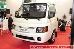 JAC X200 на выставке COMTRANS 2017