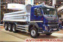 Самосвал Volvo FMX 8х4 с кузовом Wielton на выставке COMTRANS 2017