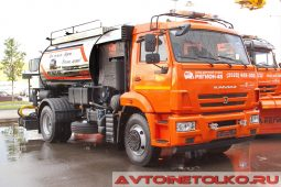 Автогудронатор Регион-45 на шасси КАМАЗ-43253 на выставке COMTRANS 2017