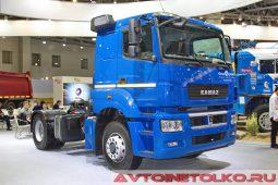 КАМАЗ-54909 с гидроприводом передних колес на выставке COMTRANS 2017