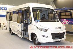 IVECO Daily 70C15 городской автобус на выставке COMTRANS 2017