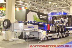 Meusburger Новтрак ТР-473 и SW-345 на выставке COMTRANS 2017