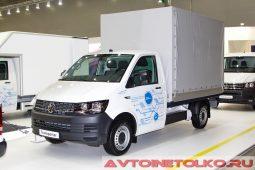 Volkswagen Transporter Pritsche на выставке COMTRANS 2017