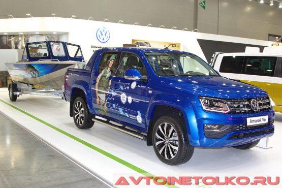Volkswagen Amarok V6 Aventura на выставке COMTRANS 2017
