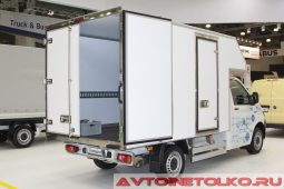 Volkswagen Transporter с фургоном Исток на выставке COMTRANS 2017