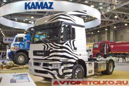 Седельный тягач КАМАЗ NEO на выставке COMTRANS 2017
