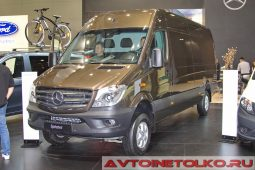 Mercedes-Benz Sprinter 319 CDi 4x4 Van на выставке COMTRANS 2017