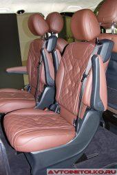 Mercedes-Benz V-Class V250d Chairman на выставке COMTRANS 2017