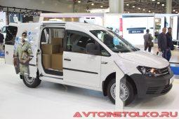Volkswagen Caddy Kasten на выставке COMTRANS 2017
