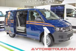 Volkswagen Transporter грузопассажирский на выставке COMTRANS 2017