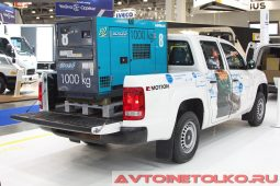 Volkswagen Amarok V6 Motion на выставке COMTRANS 2017
