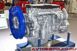 Двигатель КАМАЗ 910.10-550 Евро-5 на выставке COMTRANS 2017