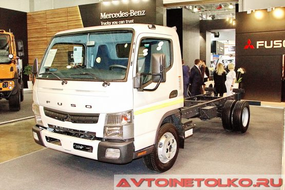 FUSO Canter TF на выставке COMTRANS 2017