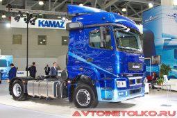 Седельный тягач КАМАЗ-65206 на выставке COMTRANS 2017