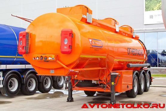 Полуприцеп-бензовоз Сеспель SF3328 на выставке Демострой 2018