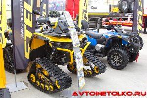 Квадроциклы STELS на выставке Демострой 2018
