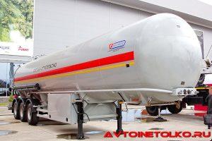 Полуприцеп для сжиженного газа Сеспель SF3240 модели на выставке Демострой 2018964885