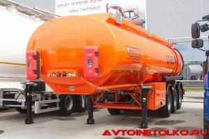 Полуприцеп-цистерна Сеспель SF3330 на выставке Демострой 2018