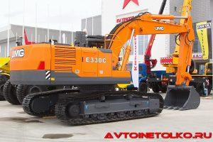 Экскаватор UMG-330C Эксмаш на выставке Демострой 2018