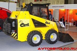 Мини-погрузчик Ant-750 на выставке Демострой 2018