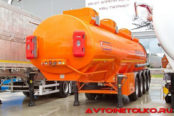 Полуприцеп-цистерна Сеспель SF4332 на выставке Демострой 2018