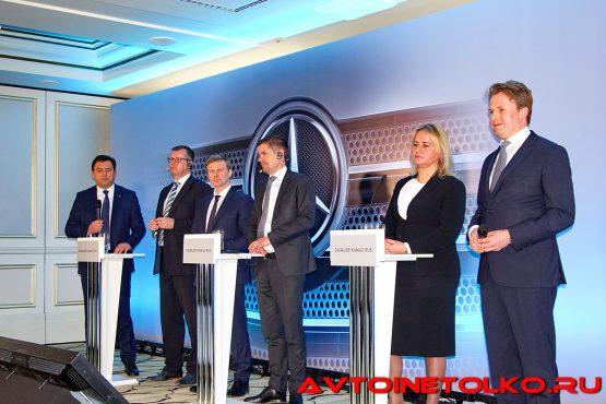 Пресс-конференция «ДАЙМЛЕР КАМАЗ РУС» по итогам 2017 года