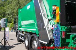 Мусоровоз Zöller Medium XLS объемом 19 м³ на шасси Scania P320 B6х2х4NA на презентации в Дмитрове