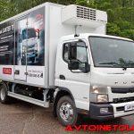 Презентация нового грузовика FUSO Canter TF на Дмитровском полигоне