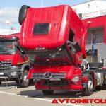 Презентация нового поколения Mercedes-Benz Arocs на автодроме Moscow Raceway