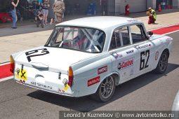 Москвич-408 стартовый номер 62 на Moscow Classic Grand Prix сезона 2018 года