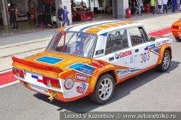 ВАЗ-2105 стартовый номер 303 на Moscow Classic Grand Prix сезона 2018 года