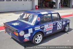 ВАЗ-2101 стартовый номер 88 на Moscow Classic Grand Prix сезона 2018 года