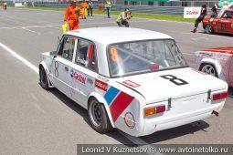 ВАЗ-2101 стартовый номер 8 на Moscow Classic Grand Prix сезона 2018 года