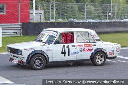 ВАЗ-2107 стартовый номер 41 на Moscow Classic Grand Prix сезона 2018 года