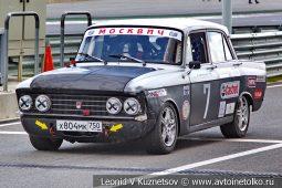 Москвич-408 стартовый номер 7 на Moscow Classic Grand Prix сезона 2018 года