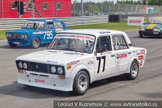 ВАЗ-2106 стартовый номер 77 на Moscow Classic Grand Prix 2018