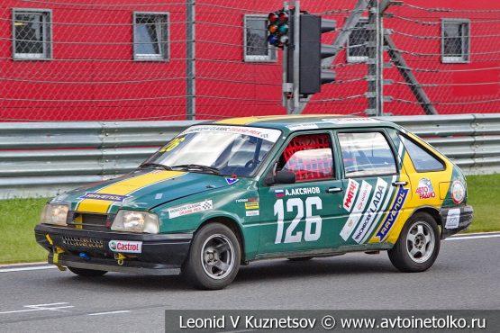 ИЖ-2126 стартовый номер 126 на Moscow Classic Grand Prix 2018