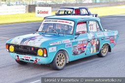 ИЖ-412 стартовый номер 77 на Moscow Classic Grand Prix сезона 2018 года