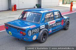 ВАЗ-2101 стартовый номер 6 на Moscow Classic Grand Prix сезона 2018 года